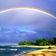 那雨后的彩虹